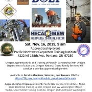 Veteran Apprenticeship Event flyer